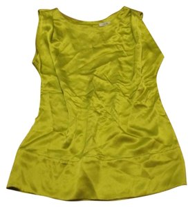 Cache Sleeveless Top lime