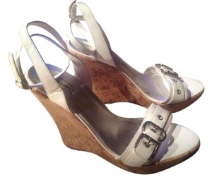 Mandee White Wedges