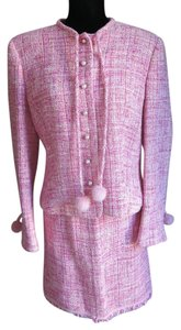 Escada ESCADA Suit PINK TWEED MINK accents