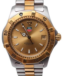 TAG Heuer Tag Huer Professional Two Tone Watch WK1121-0 - Size 36mm