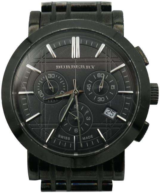 Burberry Black Chronograph 10564 Watch Burberry Black Chronograph 10564 Watch Image 1