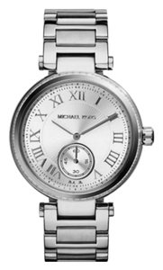 Michael Kors NWT Michael Kors Women's Skylar Silver-Tone Steel and Dial Watch