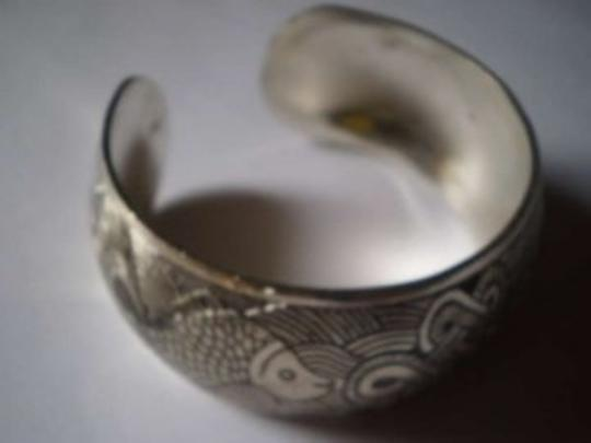 Unknown Silver oriental bracelet