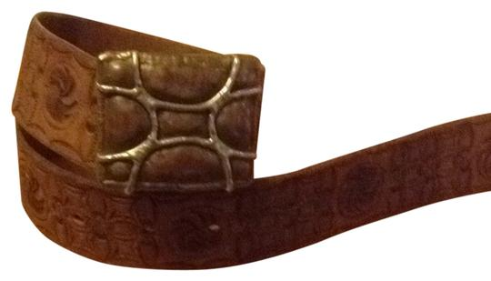 Other Hand Tooled Belt And Buckle