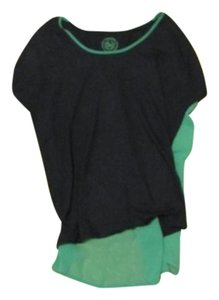 Authentic American Heritage Top Teal /Navy Blue