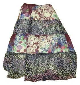 Lapis Maxi Skirt Multi