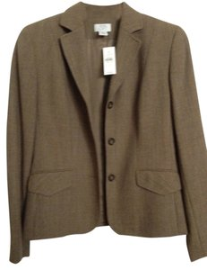 Ann Taylor LOFT Light to Medium Brown Blazer
