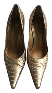 Sergio Zelcer Bronze Pumps