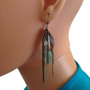 Other Earring with large crystals stones