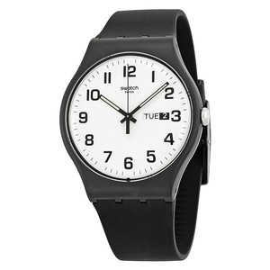 Swatch Swatch Unisex Casual Watch SUOB705 Black Analog