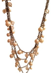 Forever 21 Pearl And Diamond necklace