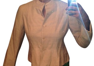 Jones New York Light Pink/Beige Blazer
