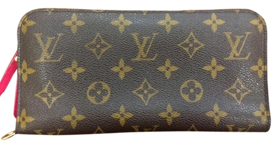 809c5bc5555 Louis Vuitton LOUIS VUITTON Rose Pop Pink Monogram Bifold Insolite Wallet  Image 0 ...