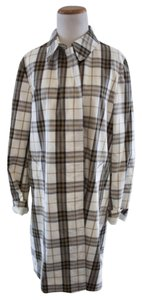Burberry Jacket Spring Plaid Trench Coat