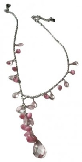 Preload https://item4.tradesy.com/images/cookie-lee-pink-beaded-necklace-15803-0-0.jpg?width=440&height=440