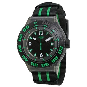 Swatch Swatch Male Deep Turtle Watch SUUM400 Black Analog