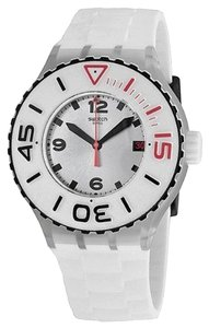 Swatch Swatch Male Blanca Watch SUUK401 White Analog