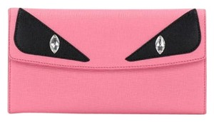 Fendi CLEARANCE! - pink bug eye monster eye crystal strass wallet