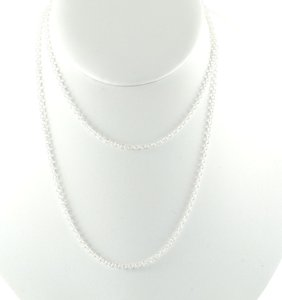 """Ippolita IPPOLITA STERLING SILVER 28"""" THIN CHAIN LINK NECKLACE"""