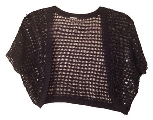 Sequin Shrug Sweater Knit Cardigan
