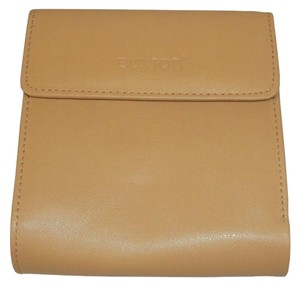 Buxton Buxton Leather Ladies' Minimizer Wallet and Coin Purse - Tan/Beige.