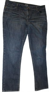 Apt. 9 Straight Leg Distressed Pocket Detail Skinny Jeans-Medium Wash