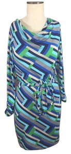 Other short dress Blue Purple Mixed Colors on Tradesy