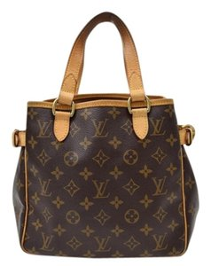 Louis Vuitton Batignolles Tote in Brown