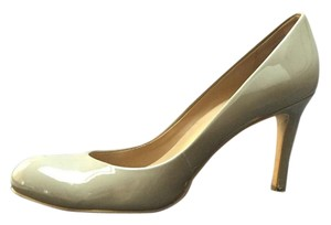 Ann Taylor Patent City Taupe Pumps