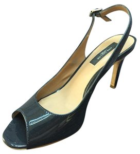 Ann Taylor Patent Pump Dark Navy Pumps