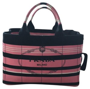 Prada Tote in Pink/Black
