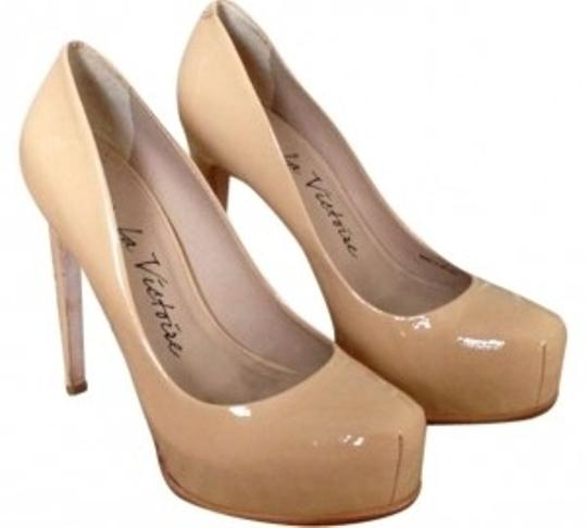 Preload https://item1.tradesy.com/images/pour-la-victoire-nude-irina-camel-patent-leather-heels-pumps-size-us-6-158050-0-0.jpg?width=440&height=440