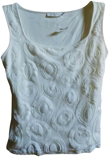 Preload https://img-static.tradesy.com/item/15805240/anne-fontaine-white-42-lined-textured-lace-tank-topcami-size-8-m-0-3-650-650.jpg