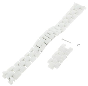 Chanel Chanel J12 White Ceramic Watch Band for 41 mm Watch Models (10664)