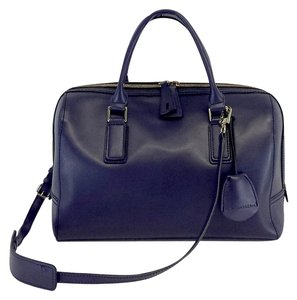 BCBGMAXAZRIA Navy Bowler Convertible Shoulder Bag