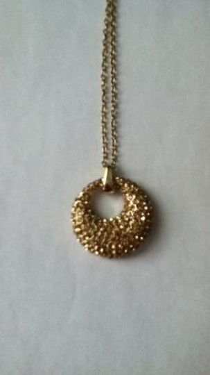 Other circle pendent necklace