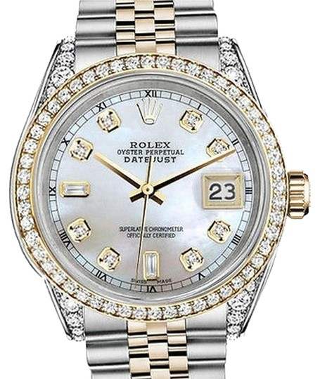 Preload https://img-static.tradesy.com/item/15806230/rolex-stainless-steel-gold-mm-datejust-white-mop-82-diamond-dial-watch-0-1-540-540.jpg