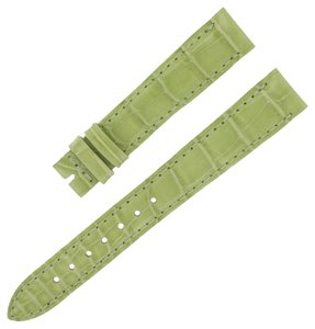 Jaeger-LeCoultre Jaeger LeCoultre 14 - 12 mm Green Leather Watch Strap Band (5840)
