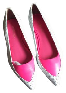 3.1 Phillip Lim White and pink Flats