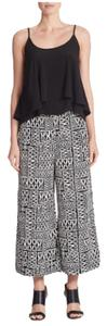 Sanctuary Clothing Wide Leg Pants Black & White