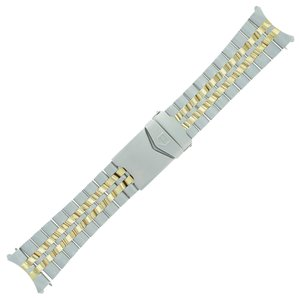 TAG Heuer Tag Heuer 607 / 410 21 - 20 mm Steel Men's Band for 1500 Series (7447)