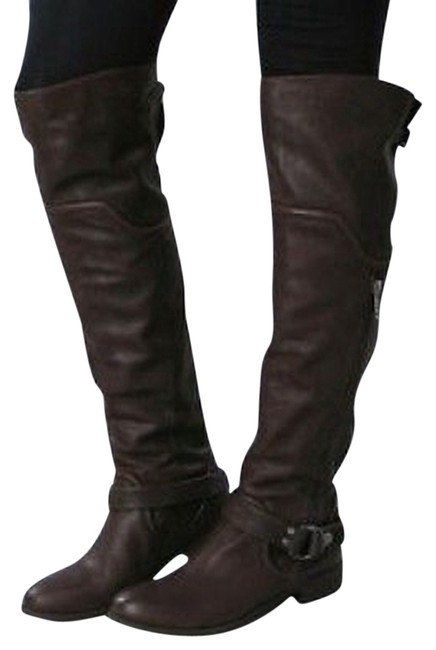 """Item - Black """"Leighton"""" Over The Knee High Boots/Booties Size US 6.5 Regular (M, B)"""