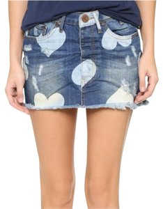 One Teaspoon Mini Skirt Denim