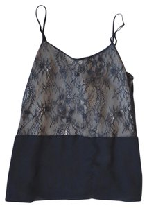 Ann Taylor LOFT Lace Top Lacy black