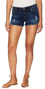 7 For All Mankind Denim Cut Off Shorts sunnyvale medium heritage 3