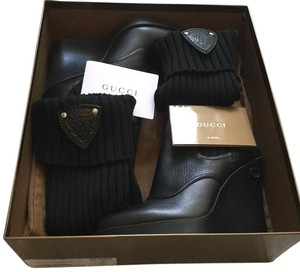 Gucci Limited Edition Sock Black Boots