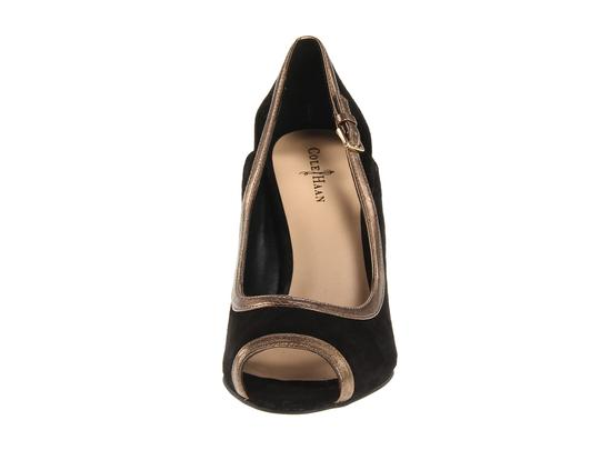 Cole Haan Black/Gold Pumps