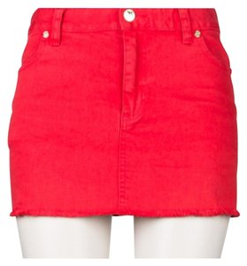 Tory Burch Mini Skirt Red