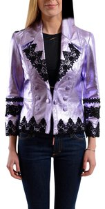 Just Cavalli Sparkle Purple Jacket