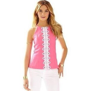 af7f375ebe38e8 Pink Lilly Pulitzer Halter Tops - Up to 70% off a Tradesy